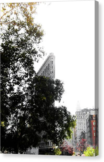 City Landscape Canvas Print - Flatiron Autumn  by Nicklas Gustafsson