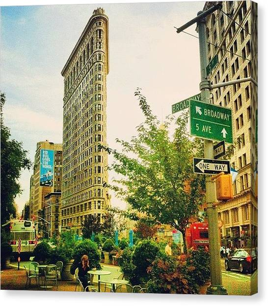 Beautiful Canvas Print - Flatiron by Luke Kingma