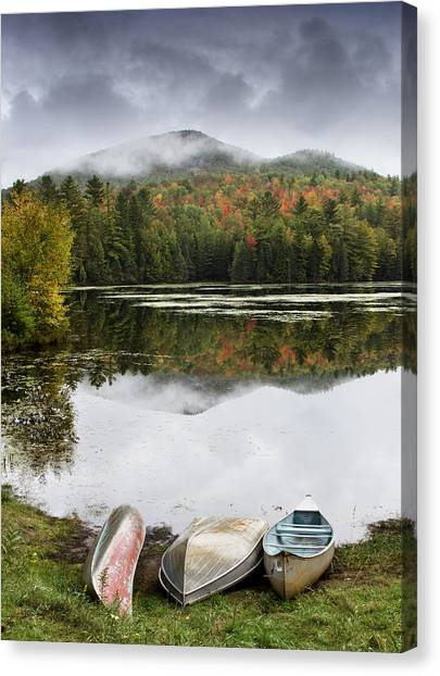 Flavor Of The Adirondacks Canvas Print