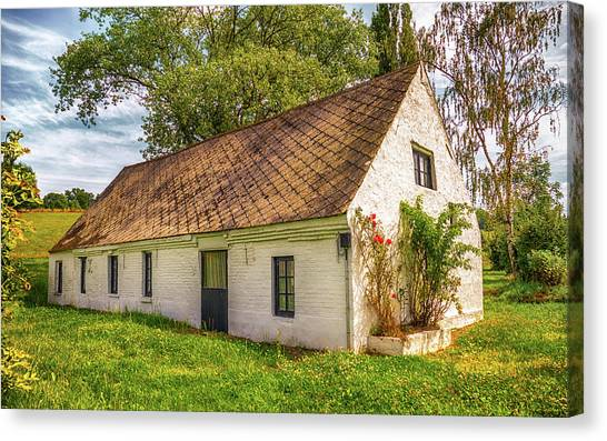 Flemish Cottage Canvas Print