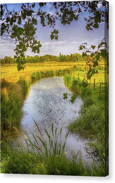 Flemish Creek Canvas Print