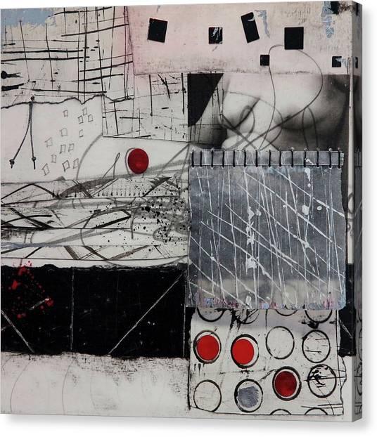 Canvas Print - Flesh Talk  by Laura Lein-Svencner