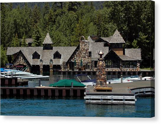 Fleur De Lac Mansion The Godfather II Canvas Print