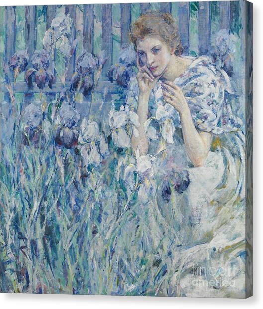 Fleur De Lis Canvas Print - Fleur De Lys by Robert Reid