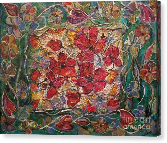 Fleur De Mon Ami Canvas Print