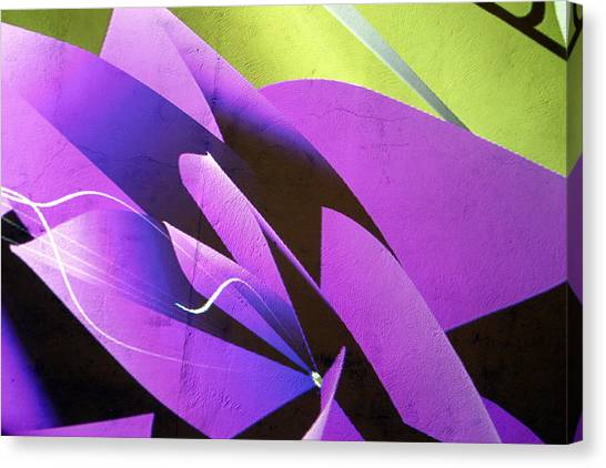 Fleur Canvas Print by Jez C Self