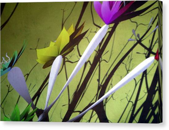 Fleurs 2 Canvas Print by Jez C Self