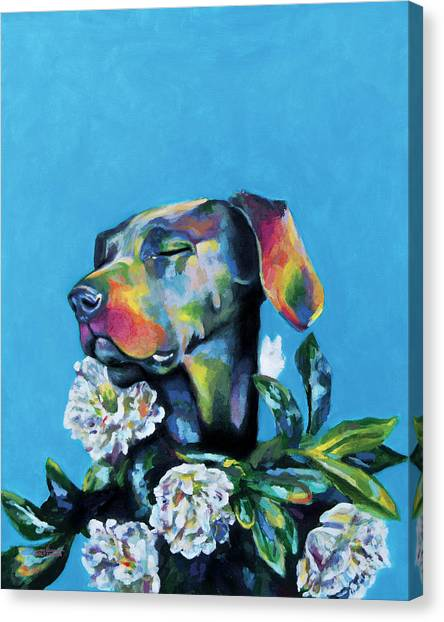 Fleur's Moment Canvas Print