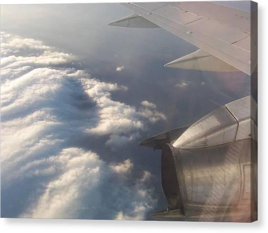 Flight Canvas Print by Adam Schwartz