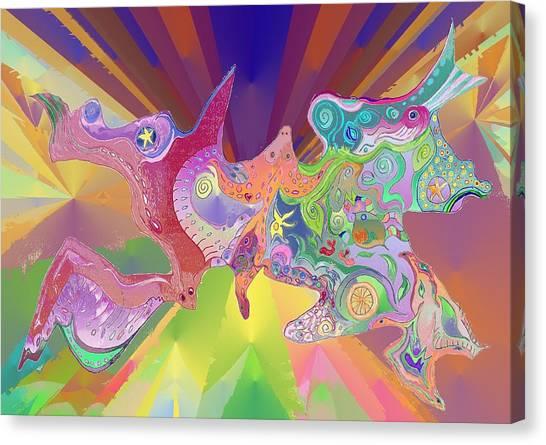 Flight Of Evolution Canvas Print
