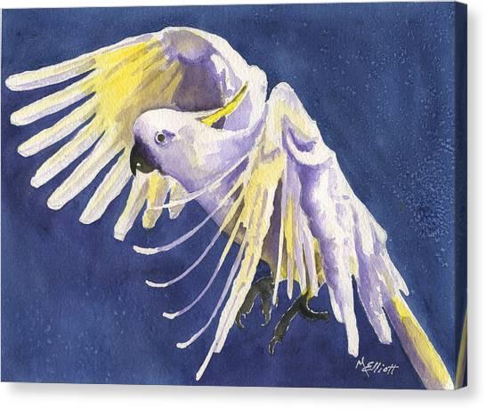 Cockatoo Canvas Print - Flight Of Fancy by Marsha Elliott
