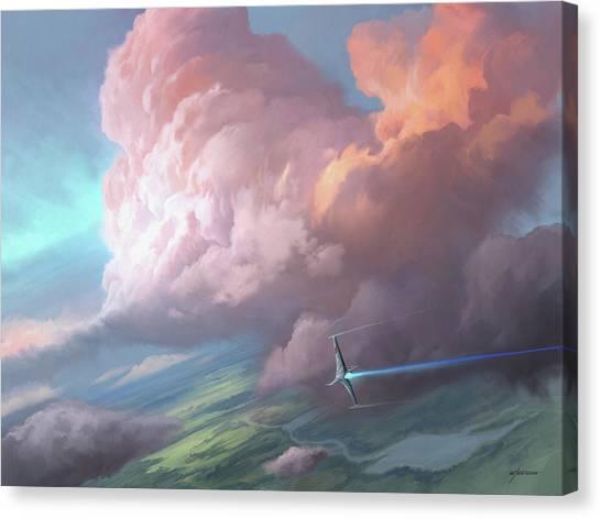 Flight Canvas Print - Flight by Steve Goad