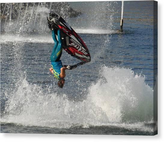 Jet Water Stunt Extreme  Canvas Print