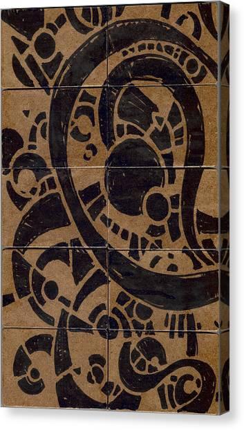 Flipside 1 Panel A Canvas Print