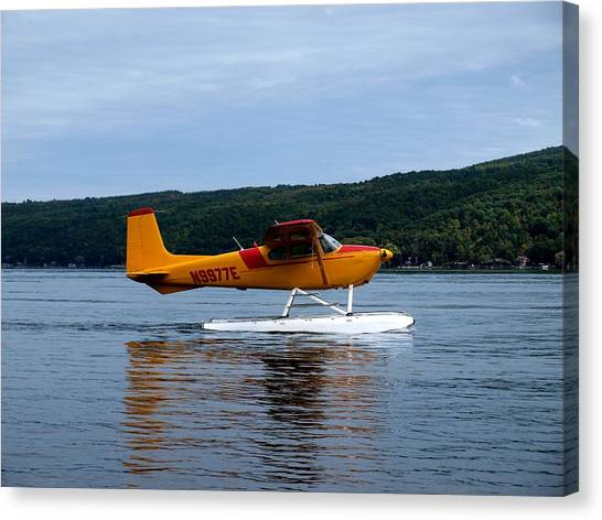 Float Plane Two Canvas Print