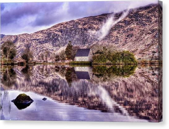 Floating Mirror Canvas Print