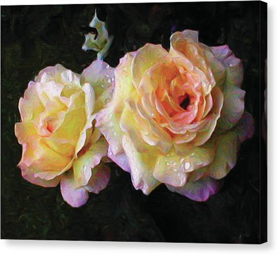 Floating Peace Canvas Print