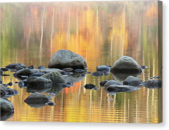 Floating Rocks Canvas Print