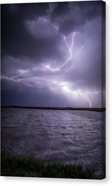 Flood Canvas Print - Flooded by Aaron J Groen