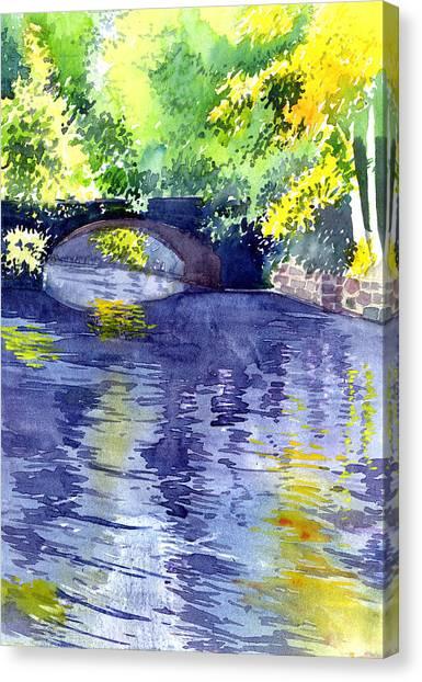 Floods Canvas Print