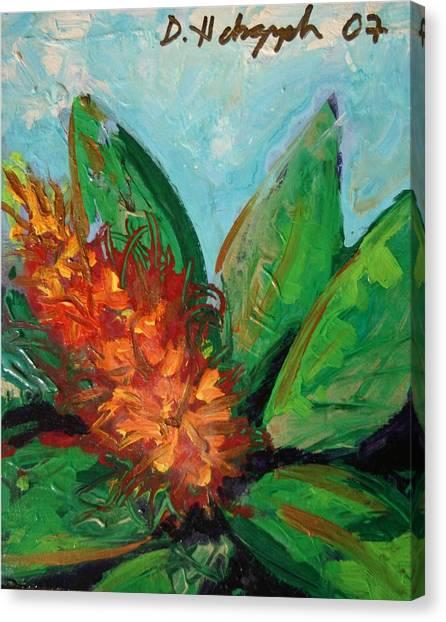 Flora Exotica B Canvas Print by Dodd Holsapple