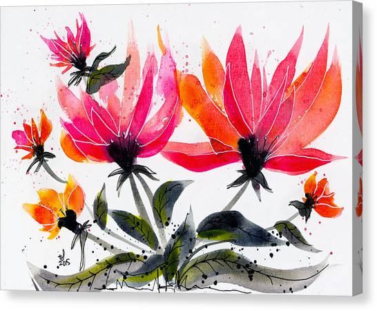 Floral 8 Canvas Print