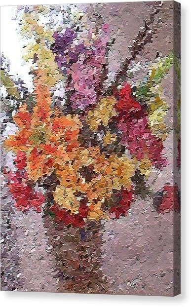 Floral Arrangement Canvas Print by Don Phillips