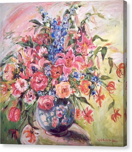 Floral Arrangement No. 2 Canvas Print