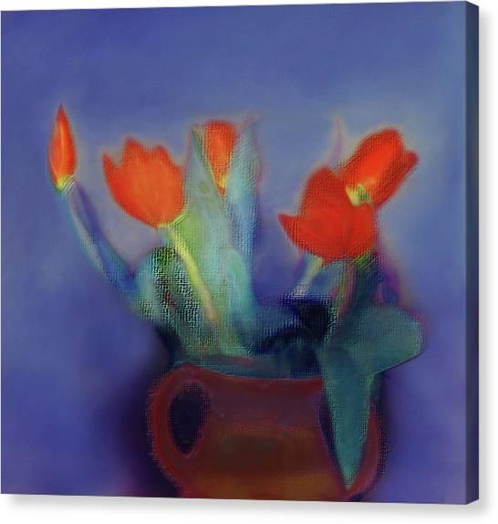 Floral Art 18 Canvas Print