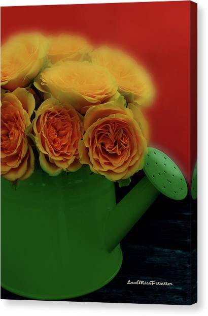 Floral Art 5 Canvas Print