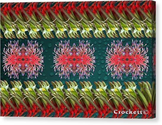 Floral Contemporary Art Canvas Print