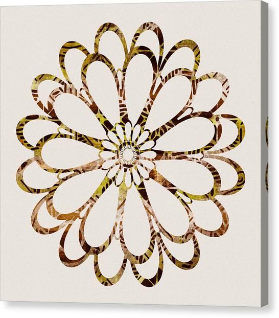 Autumn Canvas Print - Floral Design Ornament by Frank Tschakert