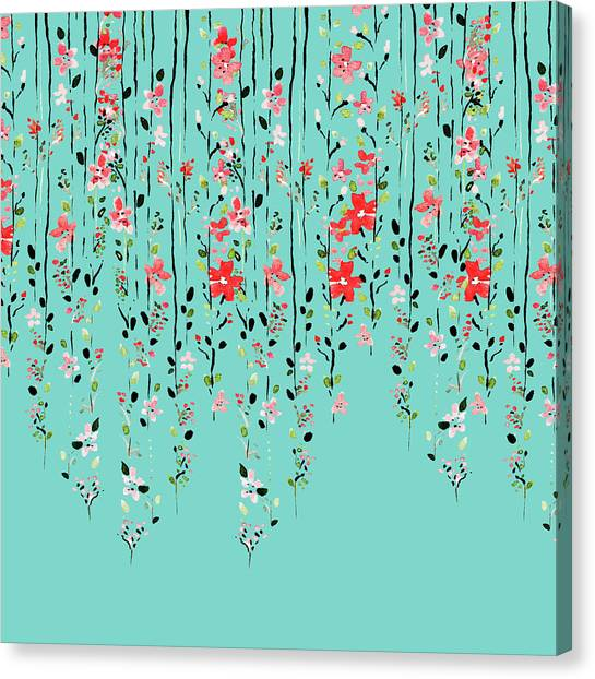 Floral Dilemma Canvas Print