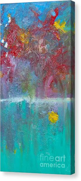 Floral Explosion Canvas Print by Maria Curcic