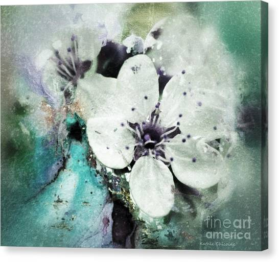 Floral Haze Canvas Print