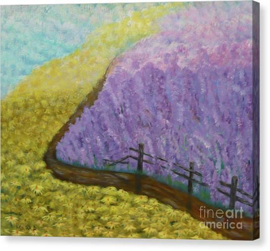Floral Rhapsody Canvas Print