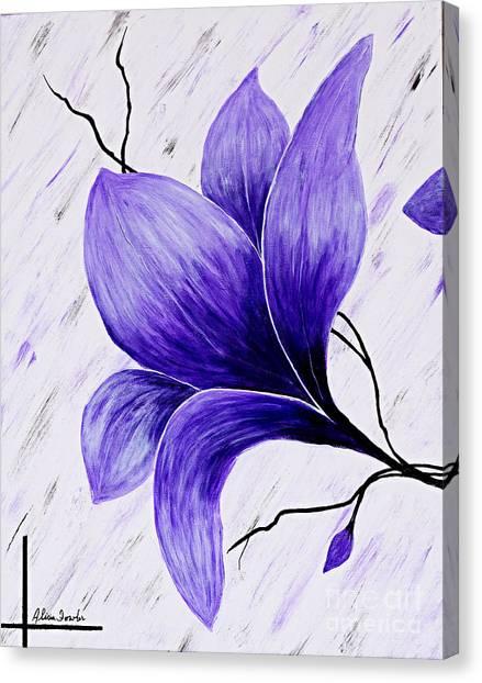 Floral Slumber Canvas Print
