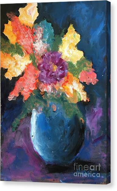 Floral Study 1 Canvas Print