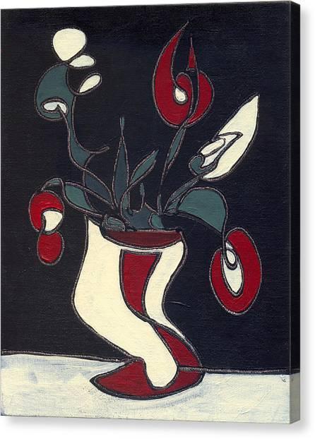 Floral Xiv Canvas Print