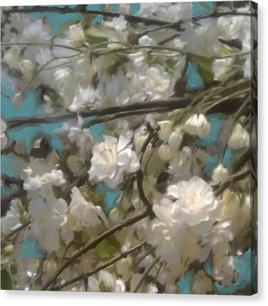 Floral01 Canvas Print