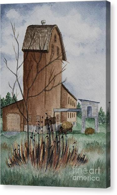 Florence Mill 1 Canvas Print by Kathleen Keller