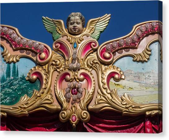 Florentine Carousel Canvas Print