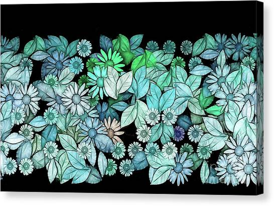 Fleur Canvas Print - Floria - V5c15 by Variance Collections