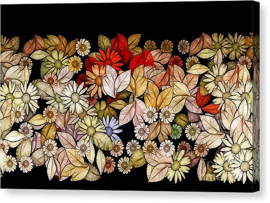 Fleur Canvas Print - Floria - V5c1a by Variance Collections