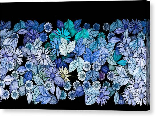Fleur Canvas Print - Floria - V5c2 by Variance Collections