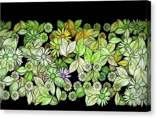 Fleur Canvas Print - Floria - V5c4 by Variance Collections