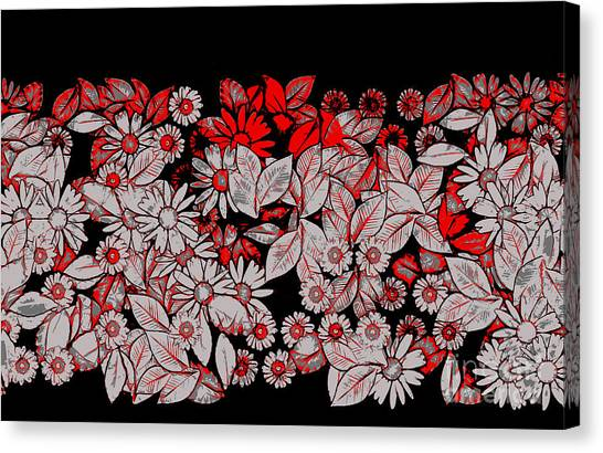 Fleur Canvas Print - Floria - V5c8b by Variance Collections