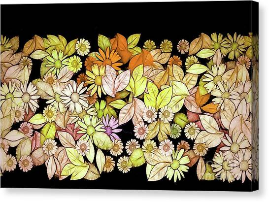 Fleur Canvas Print - Floria - V5c9 by Variance Collections