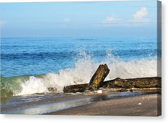 Florida Beach Canvas Print