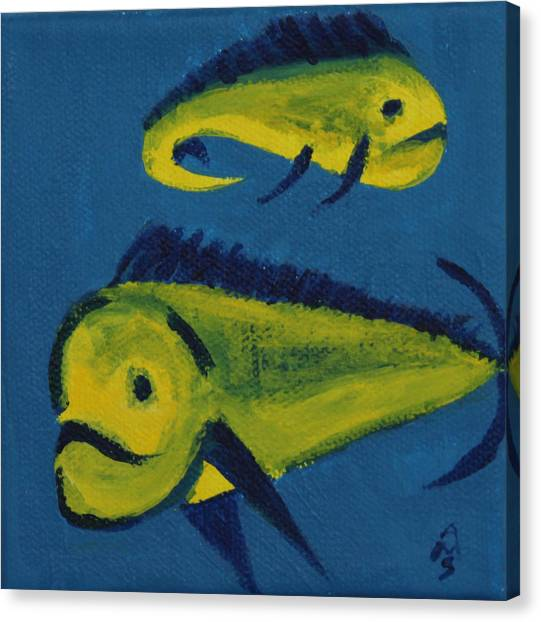 Florida Fish Canvas Print